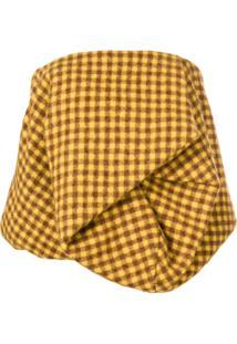 Rick Owens Blusa Xadrez Tomara Que Caia - Amarelo
