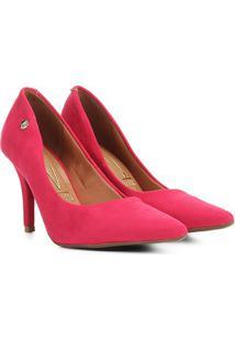 Scarpin Vizzano Salto Alto Bico Fino - Feminino-Pink