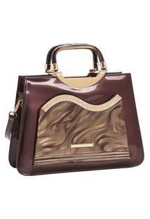 Bolsa Feminina Chenson Glamour Marmorizadode Mão 3483027