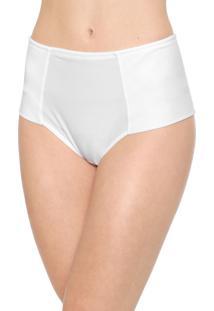 Calcinha Marcyn Hot Pant Recortes Branca