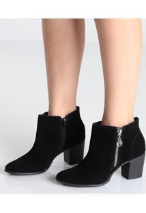 Ankle Boots Salto Grosso Via Marte