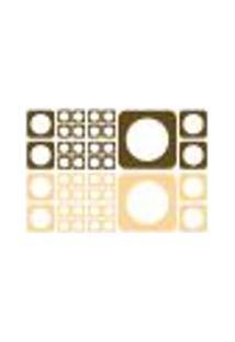 Adesivo De Parede - Quadrados Em Equilibrio - 024Ab-M
