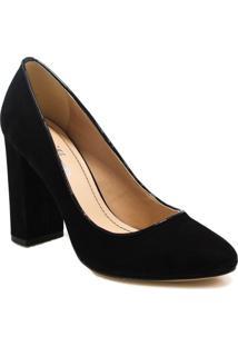 6401e4583e ... Sapato Scarpin Zariff Shoes Nobuck