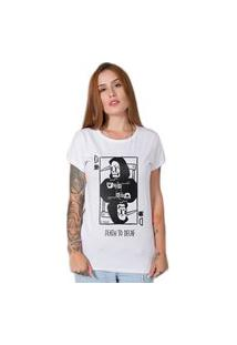 Camiseta Death To Decaf Branca Stoned