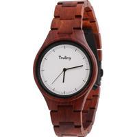 6d572943db0 Relógio Masculino Truliny De Madeira Falcon - Masculino