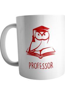 Caneca Live Chinelos Professor Branca