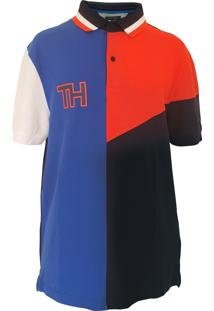 Polo Tommy Hilfiger Performance Pique Multi Color