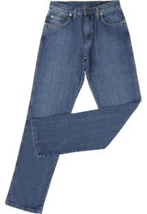 Calça Wrangler Masculina Azul 21585