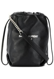 Saint Laurent Bolsa Bucket Teddy - Preto