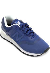 Tênis New Balance 574 Reengineered Masculino - Masculino-Azul+Branco