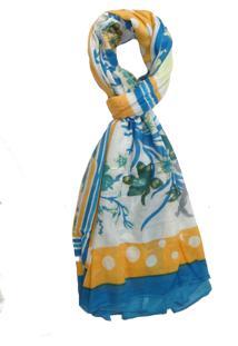 Echarpe Multicolorida Viscose feminina   Shoelover 6321b7649b7