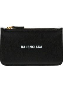 Balenciaga Carteira Com Zíper - 1090 - Black