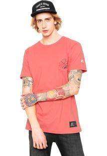 Camiseta Starter Pocket Coral