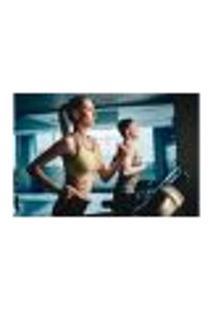 Painel Adesivo De Parede - Fitness - Academia - 679Pnm