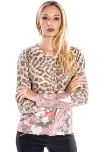 Cardigan Animal Print Florido Winthrop P