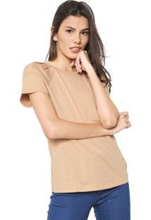 Camiseta Colcci Lisa Bege