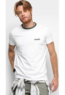 Camiseta Acostamento Masculina - Masculino-Branco