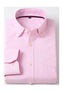 Camisa Social Masculina Nashville - Rosa