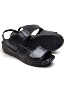Sandalias Top Franca Shoes Conforto Feminina - Feminino