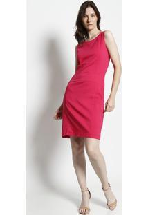 Vestido Com Recortes - Pink- Moiselemoisele