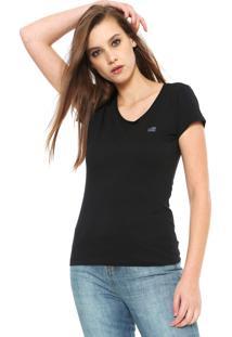 Camiseta Ellus 2Nd Floor Basic Preta