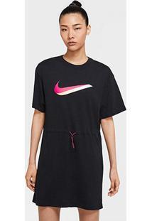 Vestido Nike Sportwear Icon Clsh Dress - Feminino-Preto