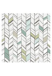 Papel De Parede Abstrato Flechas Para Quarto 57X270Cm