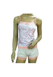 Pijama Soneca Baby Shorts Dool Cotton Cheias De Graça 0273