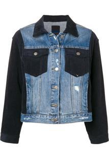 Sjyp Jaqueta Jeans - Azul