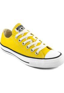 Tênis Converse Chuck Taylor All Star Ox Feminino - Feminino-Amarelo
