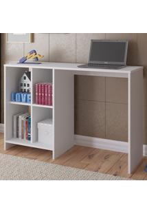 Mesa Escrivaninha Matrix 4 Nichos Branco - Artely