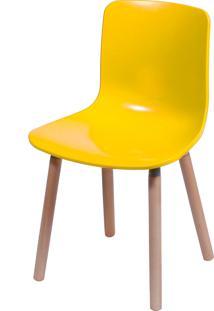 Cadeira Duomo Amarelo Or Design - Amarelo - Dafiti