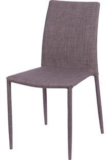 Cadeira De Jantar Glam Marrom Or Design