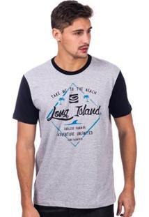 Camiseta Long Island Endless Masculina - Masculino