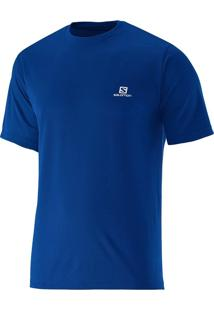 Camiseta Masculina Comet Yonder Azul Tam Gg - Salomon