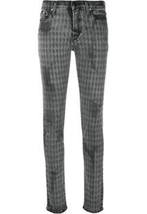 Karl Lagerfeld Calça Jeans Skinny 'Karl Kameo' - Cinza