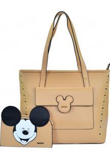 Bolsa Mickey Disney Tote Smile Com Necessairenude 234334b78da