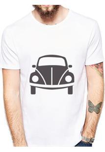 Camiseta Coolest Fusca Masculina - Masculino-Branco