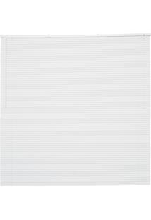 Persiana Horizontal Em Pvc Premier 160X140Cm Branca