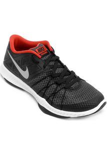 Tênis Nike Zoom Train Augmento Masculino - Masculino-Preto+Laranja