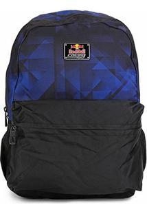 Mochila Red Bull Bevince - Masculino-Azul+Preto