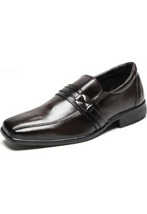 Sapato Social Fiveblu Emmet Marrom