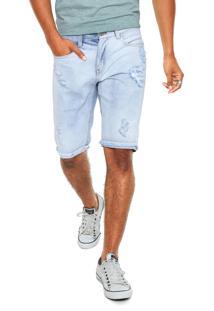 Bermuda Jeans John John Bedford Azul