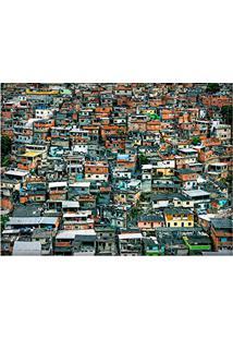 Jogo Americano Decorativo, Criativo E Descolado | Vista Do Morro Do Alemão No Rio De Janeiro, Rj - Tamanho 30 X 40 Cm