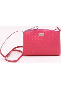 Bolsa Shoulder Bag Rosa Framboesa - P