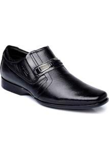 Sapato Masculino Couro Palmilha Gel Comfort Nevano - Masculino