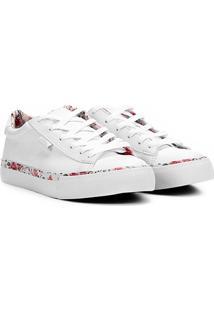 ... Tênis Whoop Floral Feminino - Feminino-Branco 7491586245842