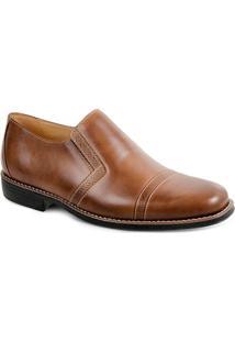 Sapato Social Masculino Side Gore Sandro Moscoloni Chiaro Marrom Claro