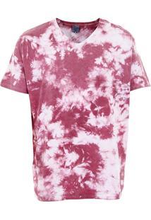 Camiseta Plus Size Masculina Sg - Vinho
