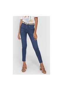 Calça Jeans Cantão Skinny Comfort Azul